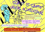 Canto grupal e individual - san andres / san marti
