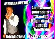 Animaciones cumpleaÑos de adultos-fiestas familiares-show humor magia y juegos participativos
