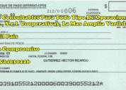 Vendo cheques consultables
