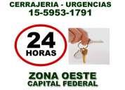 Cerrajeria urgencias 24hs caseros (15.5953.1791)