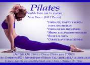 Clases de pilates mat, clases grupales y particulares