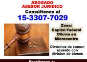 Demanda divorcio abogados en caba - *15-3307 7029*