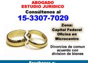 abogados divorcios en capital federal - (15-3307 7029)