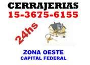 Cerrajeria 24hs  haedo 15 5953 1791