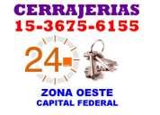 Cerrajeria las 24 hs  ciudadela [1536756155] en zona oeste