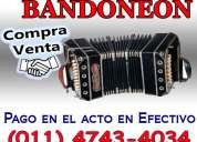 Compra venta bandoneon 4743-4034