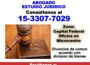 Divorcio vincular abogados  capital federal - contacte *15-3307 7029*