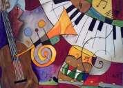 Clases particulares de piano, canto, audioperceptiva y composición.