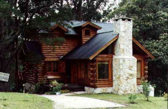 Construccion de cabañas en madera Casa de Troncos en Bariloche
