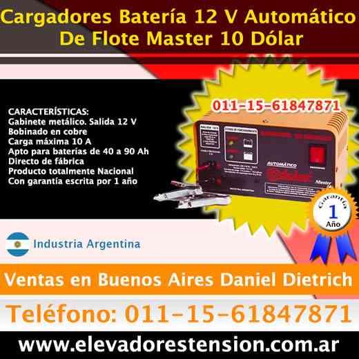 Analizadores de baterias zona Lujan  Tfno. [011]156184-7871