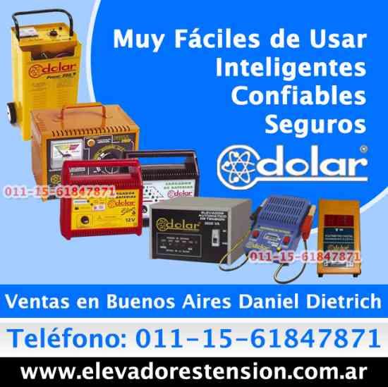 Cargadores arrancadores Dolar en Tortuguitas  Tfno. (011)15-6184-7871