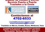 Alquiler de vans, minibuses  recoleta asesorese [47026533]