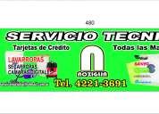 Reparacion de lavarropas y secarropas .service noziglia