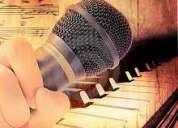 Clases particulares focalizadas de piano y canto