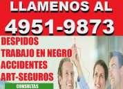 Abogados laborales,soluciones legales,capital,zona once,consultas gratis