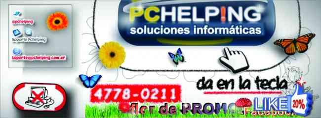 SERVICIO TÉCNICO COMPUTADORAS A DOMICILIO 24 HORAS 4778-0211 Buenos Aires PC HELPING