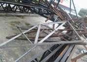 Estructuras de hierro dejar mensaje o llamar