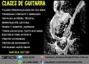 clases de guitarra todos los niveles, precios promocionales