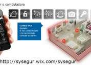 Alarmas video vigilancia domotica servicio tecnico instalaciones rosario