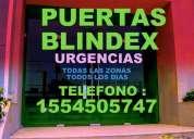 Blindex puertas blindex te: 1554505747 reparacion y urgencia todas las zonas **recomendado**