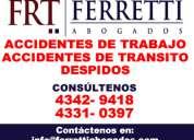 Accidentes de transito palermo puede contactarse al *4342 9418*  seguros automotor capital federal