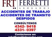Accidentes de transito barracas contactenos   (4331-0397) gestoria automotor capital federal