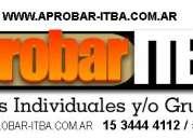 Clases Particulares Ingreso ITBA